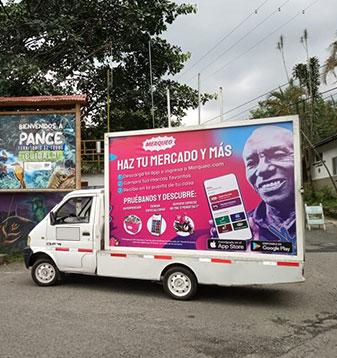 Carros valla con cobertura nacional en PyP Medios