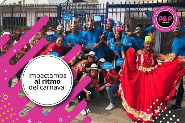 Empieza a desarrollar tu estrategia de marketing estacional para publicitar durante el Carnaval de Barranquilla.