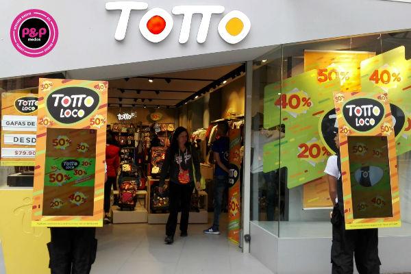 Agencias publicidad BTL Totto - promoción de empresas