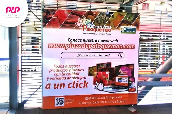 Publicidad en transmilenio