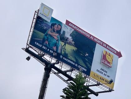 Vallas publicitarias en zonas estratégicas de Colombia para mostrar tu marca
