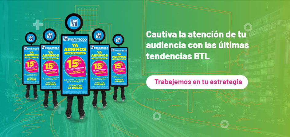 Realiza tu publicidad BTL