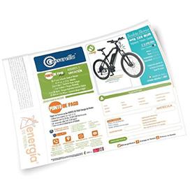 Distribución de publicidad impresa en facturas de Energía de Pereira