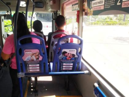 Tu marca en buses de Cali, Medellín, Barranquilla, Pereira y más