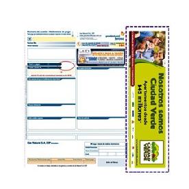 Puedes imprimir publicidad directamente en facturas de Gas Natural Vanti