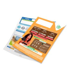 Formato de impresión publicitaria en facturas | Air E