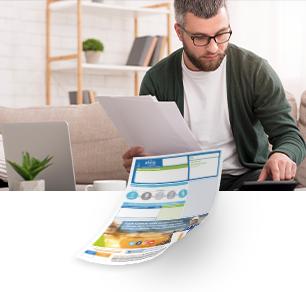 Publicidad en facturas de Afinia | P&P Medios